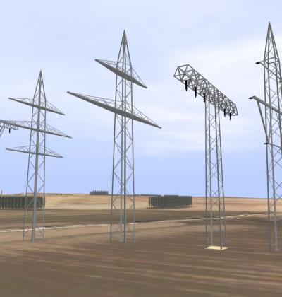 3D Modelle von verschiedenen Masttypen zum Download