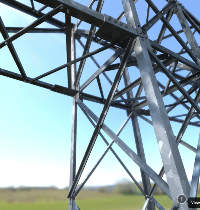 Transmission Tower 18.5 Meters - 3D Model - download