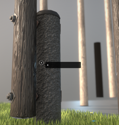 Wooden Power Poles_Detail_1 - 3D Model - download