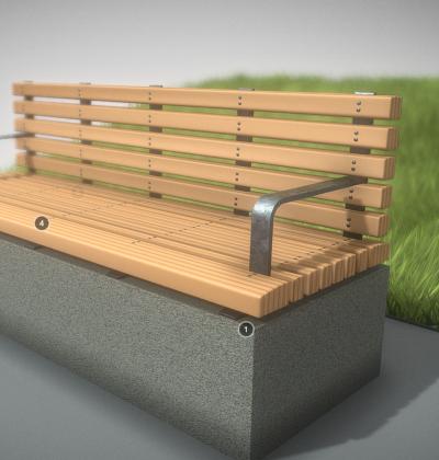 3D Modelle-Stadtmoebel-Holz-Bank-download