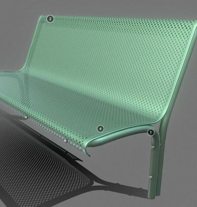 3D Modelle-Stadtmoebel-Metall-Bank-download