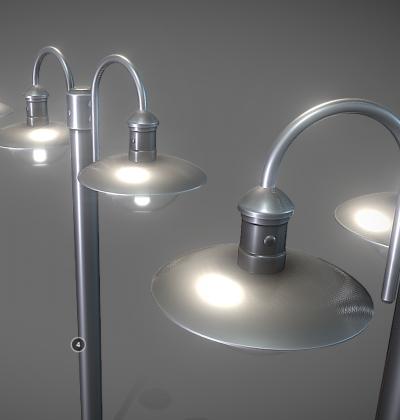 3D Modelle - Strassenbeleuchtung - downloads