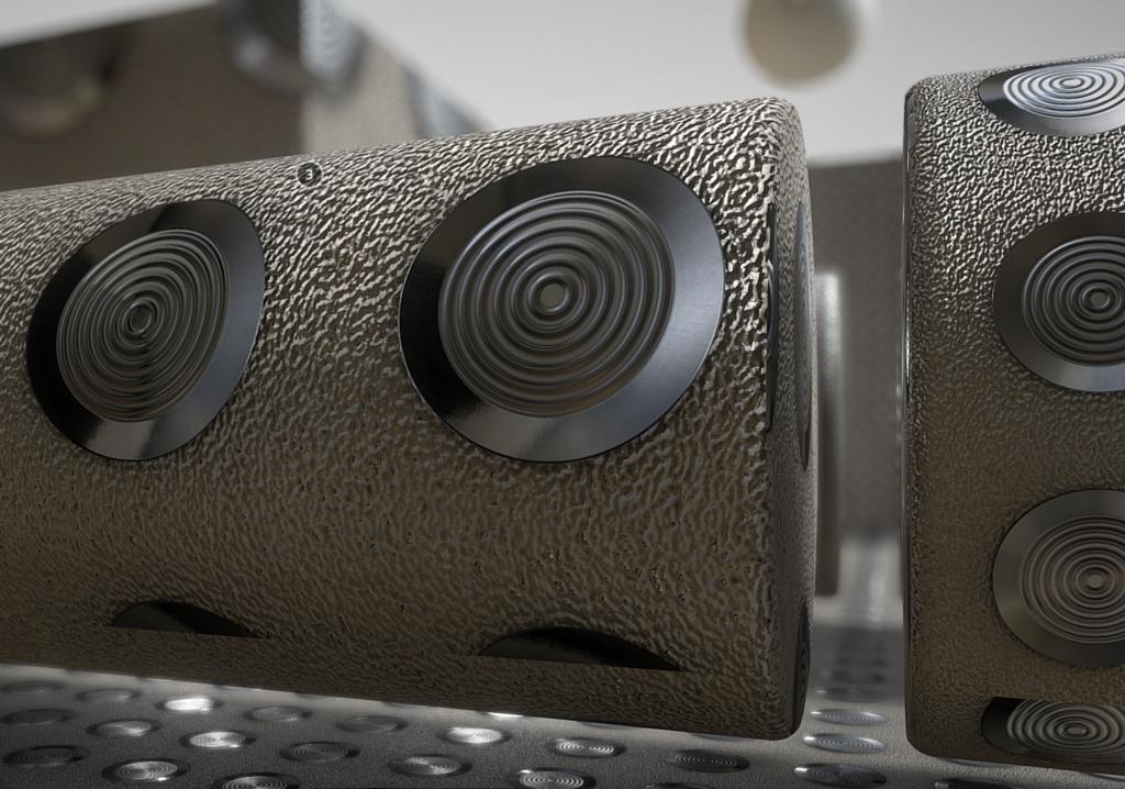 3D Texture - tacticle studs on sandstone - CAD - CG - Design - downloads