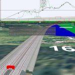 3D Visualisierung von Eisenbahnplanung