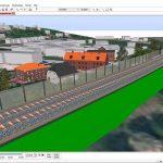 3D Software für Eisenbahnplanung
