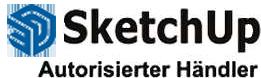 Autorisierter SketchUp Händler - Logo
