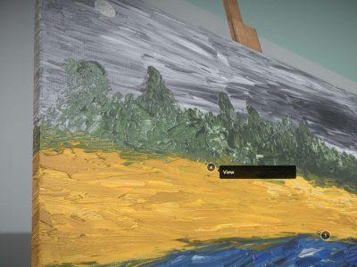 3D Model - Oil Painting - Mist Foehr - Detail_1