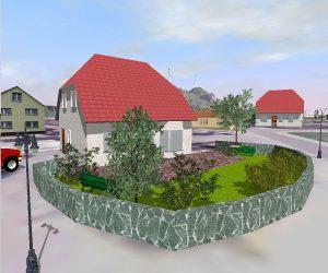 Hochwertige Architekturvisualisierung und Stadtplanung