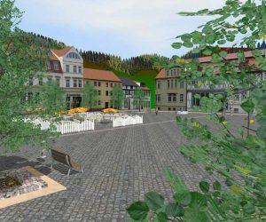 Vom GIS-Daten zu 3D-Stadtmodellen