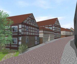 Hochwertige Architekturvisualisierung: Altstadt Projekt