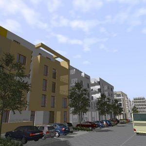 Entwicklung der Stadt in digitalen 3D-Stadtmodellen mit Visualisierungssoftware