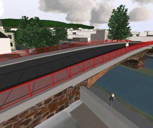 Komplexe 3D Planung und Visualisierung von Brücken