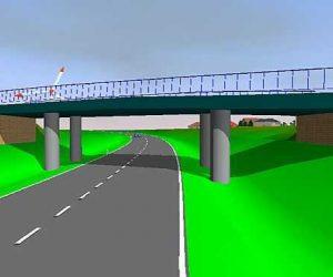 3D-Visualisierung im Straßenbau: 3D Entwürfe
