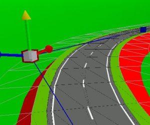 Prozesse- und Straßenbau-Optimierung: Bearbeitung von Achse und Gradiente