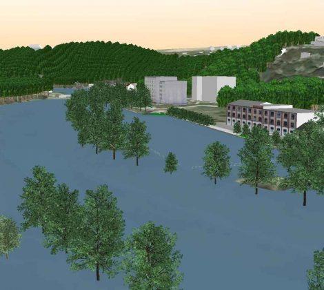 Animation von Hochwasserabflussprozessen in VIS-All 3D problemlos erstellen