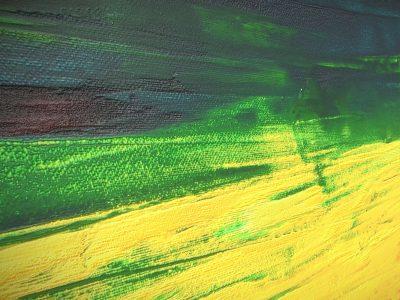 Gelbe Wiese - Oil Painting - 3D Model - Detail_1