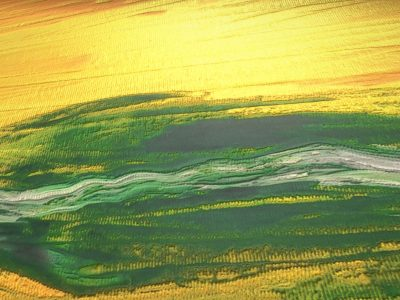 Green Oasis - Oil Painting - 3D Model download - Detail_1