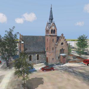 3D-Architekturvisualisierung von Punktwolken
