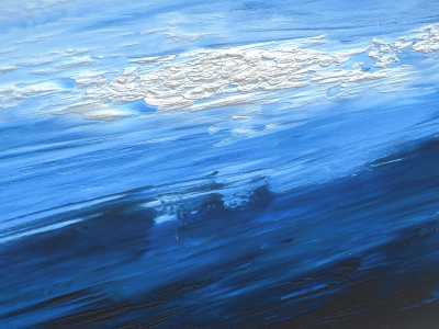 Oil Painting - Clouds - 3D Model - Texture