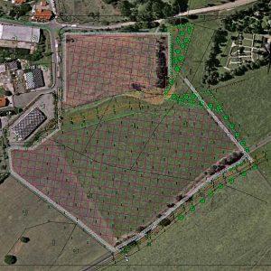 3D Software für Schattenanalyse und Simulation von Freiflächenanlagen -Solaranlage
