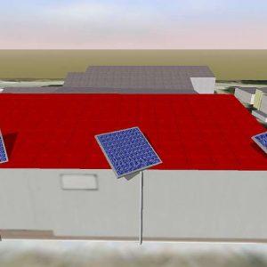 3D Software für Schattenanalyse und Simulation von PV-Anlage