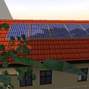 3D-Visualisierung und Planung von PV-Anlagen
