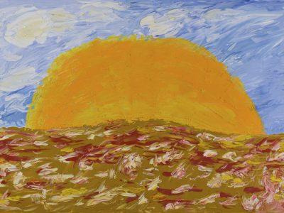 Sunrise - Oil Painting - 3D Model - download