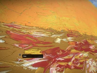 Sunrise - Oil Painting - 3D Model Detail_1