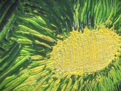 Three Flowers - Oil Painting - 3D Model - Detail_1