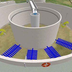 3D Projekt: Belebungsbecken bei der Kläranlage