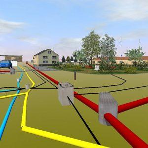 Kanalnetzentwürfen: planen, visualisieren und präsentieren