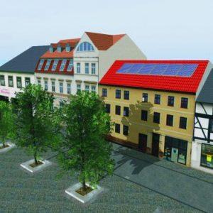 3D Simulation und Verschattungsanalyse von PV-Anlage