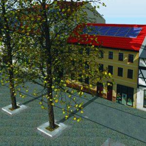 3D Visualisierung und Planung von Dachsolaranlage: Schattenverlauf
