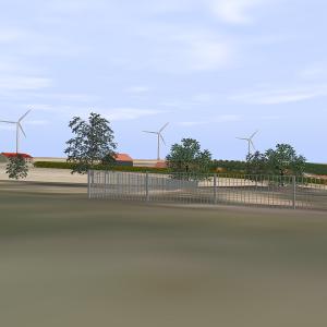 3D Software für Schattenlänge und Schattenrichtung von WKA an einem bestimmten Ort.