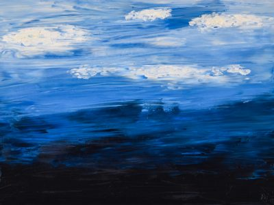 3D Model - Oil Painting - Clouds