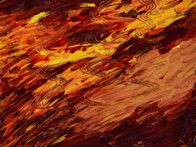 Rote Reihe - Oil Painting - 3D Model - download